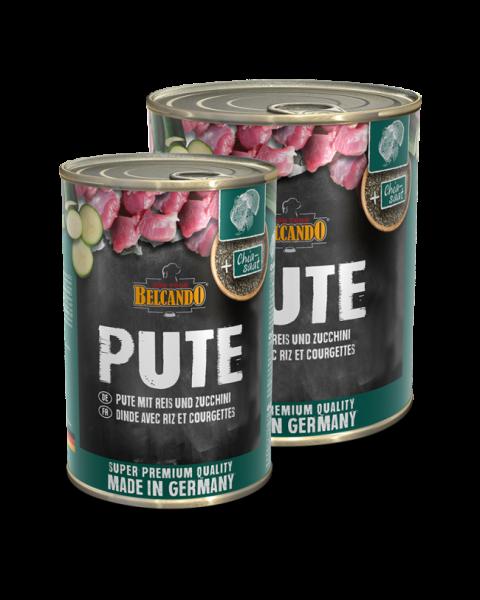 BELCANDO® Pute mit Reis & Zucchini