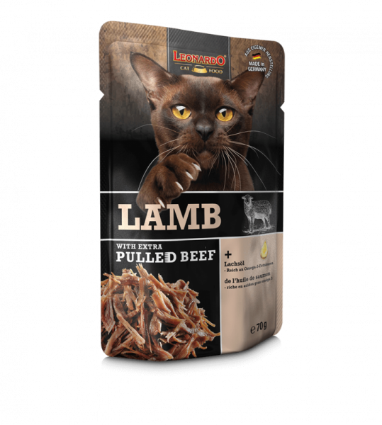 LEONARDO® Lamb with extra PULLED BEEF, 70 g
