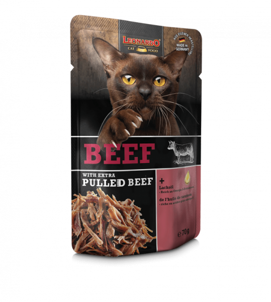LEONARDO® Beef with extra PULLED BEEF, 70 g