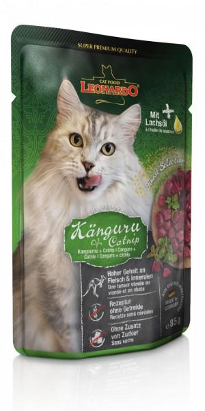 LEONARDO® Känguru + Catnip, 85 g
