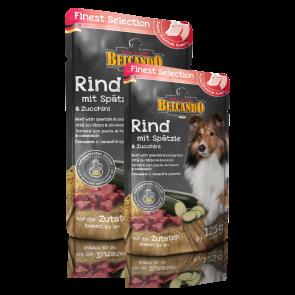 BELCANDO® Rind & Spätzle mit Zucchini