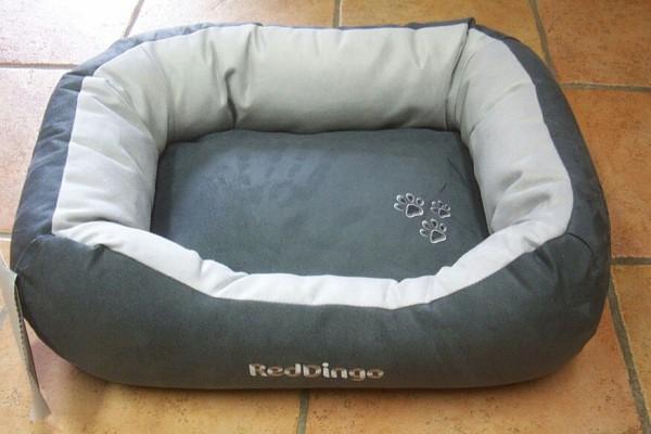 RedDingo Hundebett Größe S grau