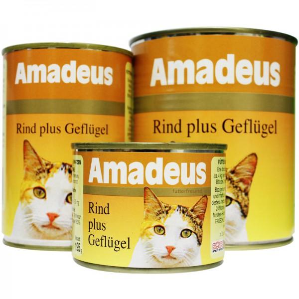 Amadeus, Rind plus Geflügel, 195 g