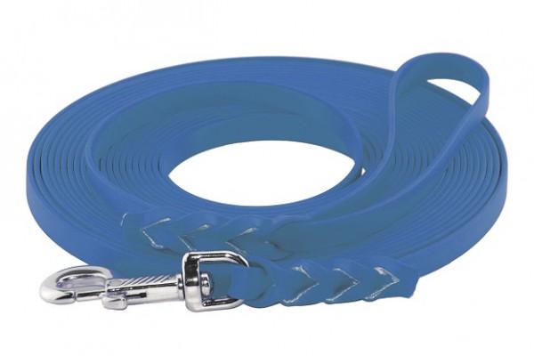 Schleppleine BioThane® azurblau