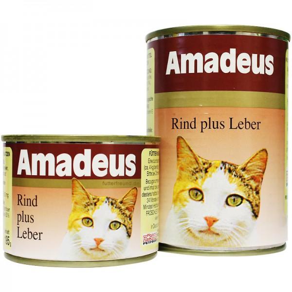 Amadeus, Rind plus Leber, 195 g