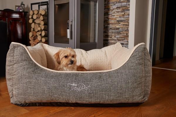 Vitabed Beige - Orthopädisches Hundebett