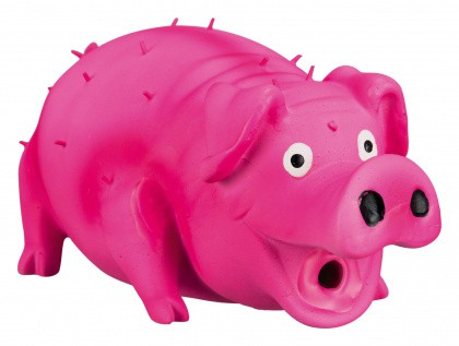 Borstenschwein mit Originaltierstimme