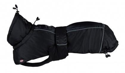 Wintermantel Prime, schwarz/grau