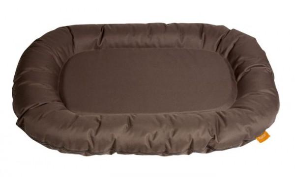 Hundekissen Dream Shadow, oval dunkelbraun