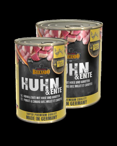 BELCANDO® Huhn & Ente mit Hirse & Karotten