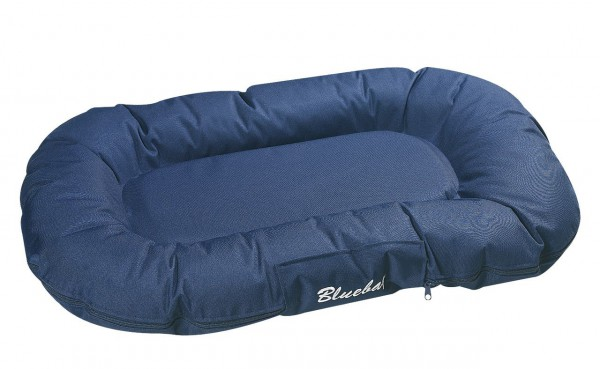 Hundekissen Dream Blue, oval dunkelblau