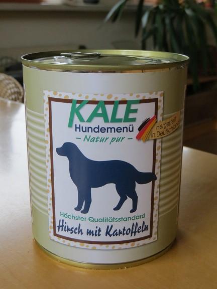 Kale Hirsch mit Kartoffeln