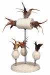Naturspielzeuge auf Spiralfedern, 15 x 30 cm
