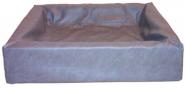 Bia-Hundebett, grau 80cm x 100cm, Gr. 6