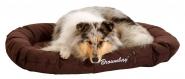 Hundekissen Brownbay, oval dunkelbraun