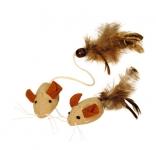 Mäuse mit Federn