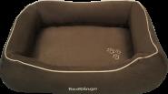 RedDingo Hundebett Größe M dunkelbraun